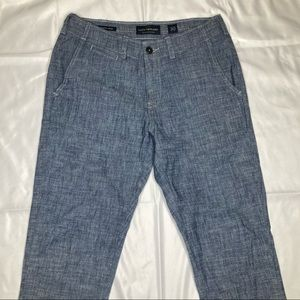 LUCKY Brand Mens 410 Athletic Chino Size 30 Grey